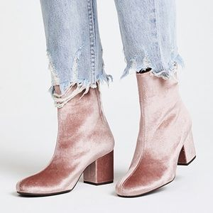 Free People Cecile Ankle Booties Size 7 NWT